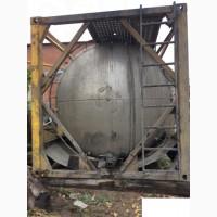 Танк-контейнер б/у, из нержавеющей стали