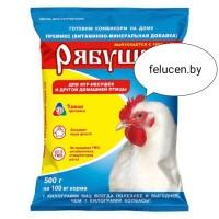 Премикс концентрат Рябушка для домашней птицы Эконом 500г(ОПТ от 4 коробок)