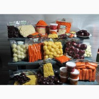 Овощи свежие очищенные в вакуумной упаковке в Минске