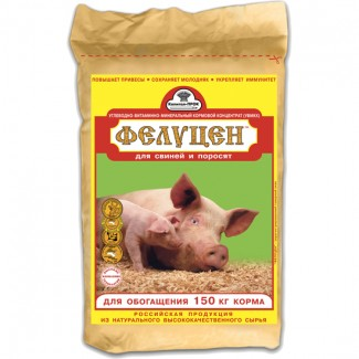 Фелуцен С 2-4 для хряков, свиноматок, поросят(гранулы) 3кг (ОПТ)