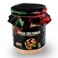 Консервы Каша перловая со свининой по-домашнему 500 г