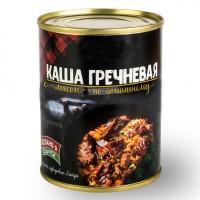 Консервы Каша гречневая с говядиной по-домашнему 350 г ж/б