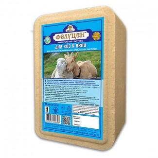 Фелуцен солевой лизунец с минералами для коз и овец 3кг (ОПТ под заказ)