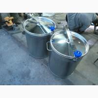 Изготавливаем на заказ бочки, контейнеры, баки, ёмкости из нержавеющей стали