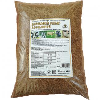 Углеводный комплекс Кормовой сахар рассыпной для сельскохозяйственных животных 25кг (ОПТ)
