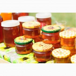 Свежий мед с домашней пасеки