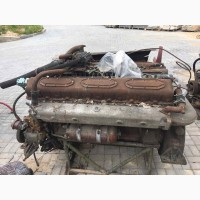 Двигатели двенадцатицилиндровые Д12А-375А, У1Д6 150