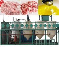 Линия для переработки и вытопки животных жиров, сала в пищевой, технический и кормовой жир