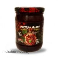 Консервы Смородина красная протёртая с сахаром ГОСТ 450г