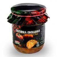 Консервы овощные Солянка с грибами из свежей капусты ГОСТ 500 г