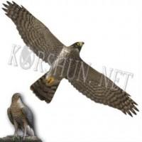 Отпугиватель птиц профиль Хищник 1 пластиковый 48 x 100 см