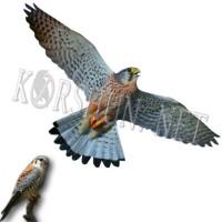 Отпугиватель птиц профиль Хищник 3 пластиковый 40 x 80 см